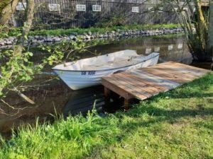 Båden ved Klostermølle i Mossø