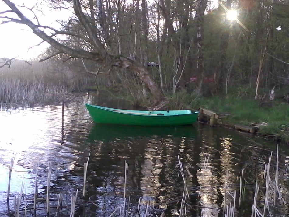 Båden i Hinge Sø