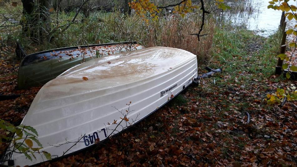 Bådens vinterplads ved Ivershave