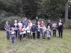 Alle vinderne af børnenes fiskekonkurrence 2018